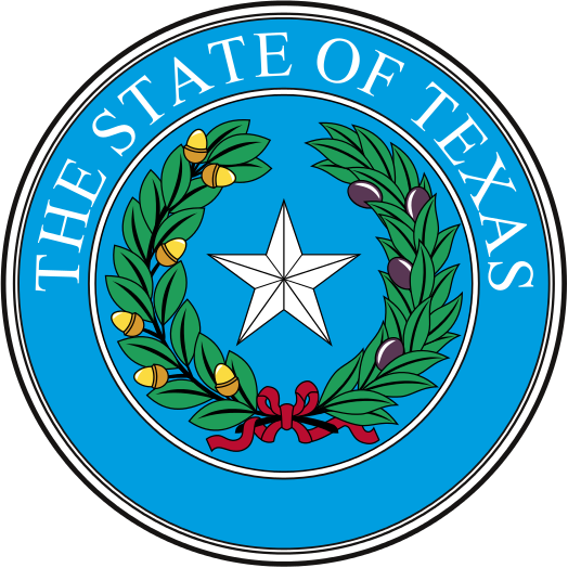 Logo of The State of Texas